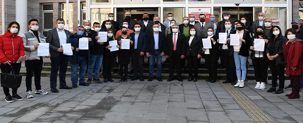 CHP Kuşadası Gençlik Kolları hukuksuzluğa itiraz etti