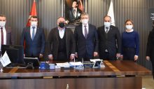 Edremit Belediye Başkanı Arslan'dan Başkan Fuat Öndeş'e ziyaret