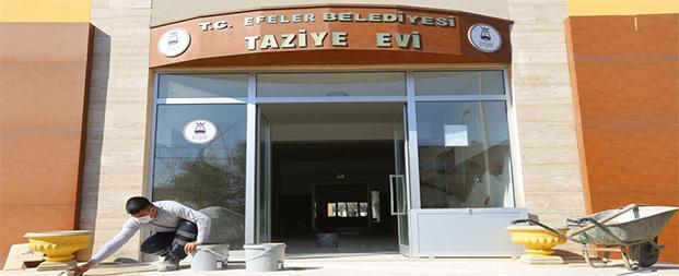 Efeler Belediyesi, taziye evini yeniliyor