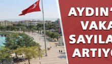 Aydın'da vaka sayıları artıyor