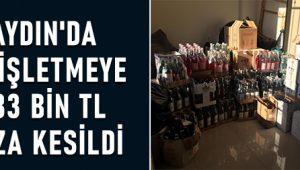 Aydın'da 66 işletmeye 183 bin TL ceza kesildi