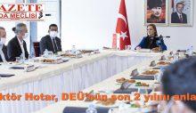 Rektör Hotar, DEÜ'nün son 2 yılını anlattı