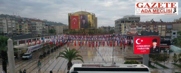 Aydın'da Cumhuriyet Otobüsü, 29 Ekim'i renklendirdi