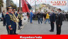 Kuşadası'nda Cumhuriyet Bayramı kutlamaları başladı