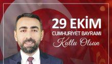 Eşin Gurup Yönetim Kurulu Başkanı Rıdvan EŞİN 29 Ekim Kutlama İlanı