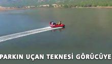 Milli parkın uçan teknesi görücüye çıktı