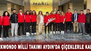 Parataekwondo Milli Takımı Aydın'da çiçeklerle karşılandı