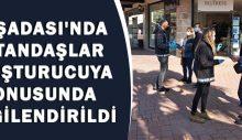 Kuşadası'nda vatandaşlar uyuşturucuya karşı bilgilendirildi