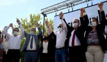 Kuşadası CHP İlçe Örgütü Tam Kadro Atabay'a Destek İçin Didim'deydi