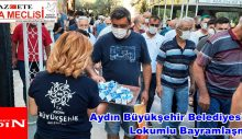 Aydın Büyükşehir Belediyesi'nden Lokumlu Bayramlaşma